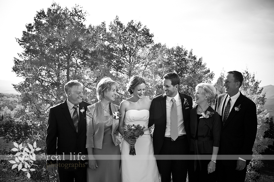 Beautiful Fall Gorrono Ranch Telluride Colorado Wedding in September
