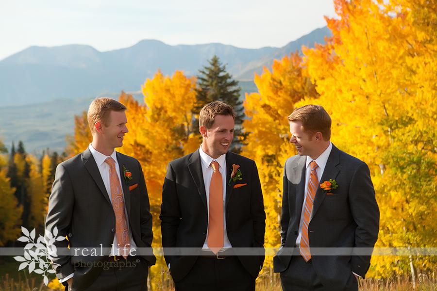 groomsmen at Gorrono Ranch