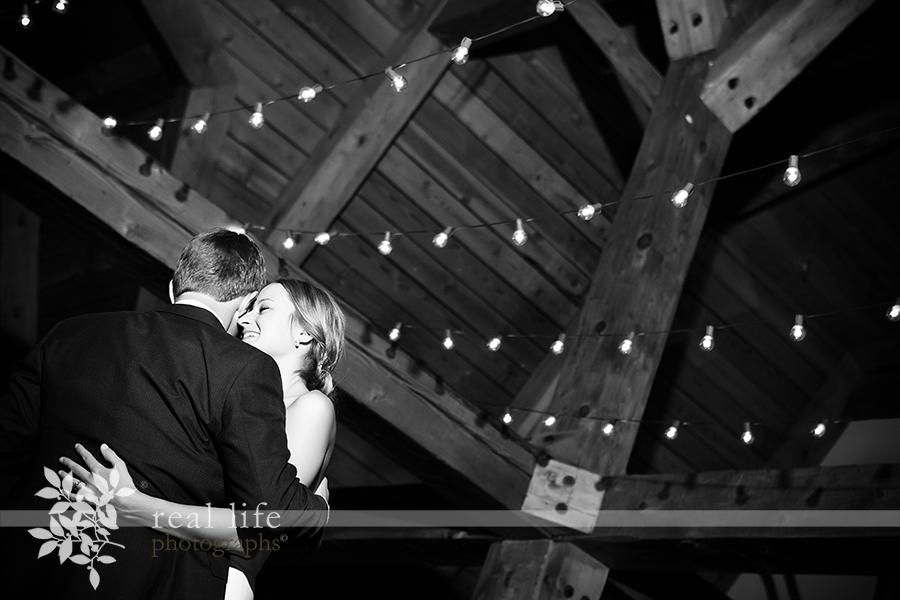 First dance at Gorrono Ranch Telluride Wedding