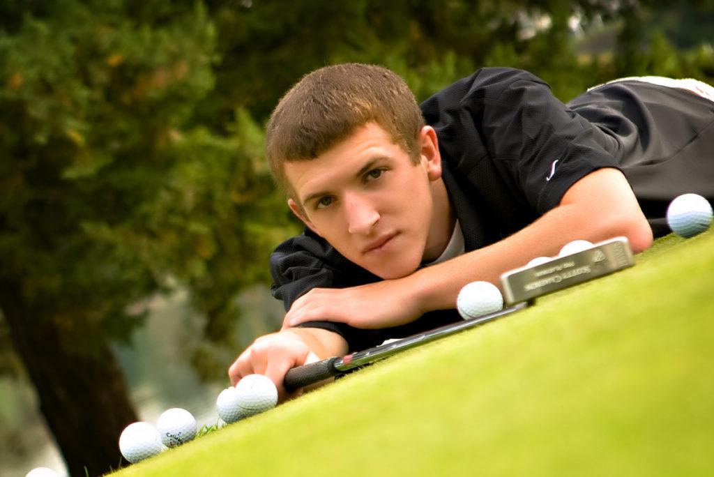 Telluride high school senior golfer