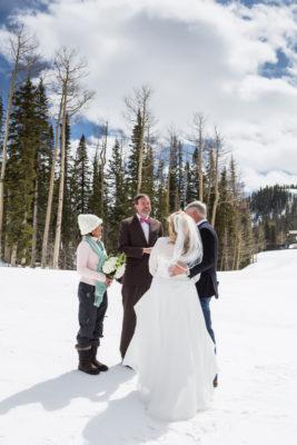 winter Telluride elopement
