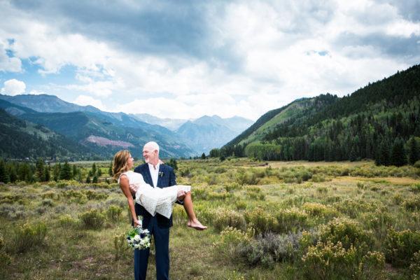Telluride valley floor elopement