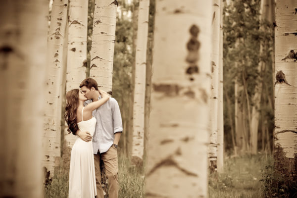 telluride-aspen-trees-engagement
