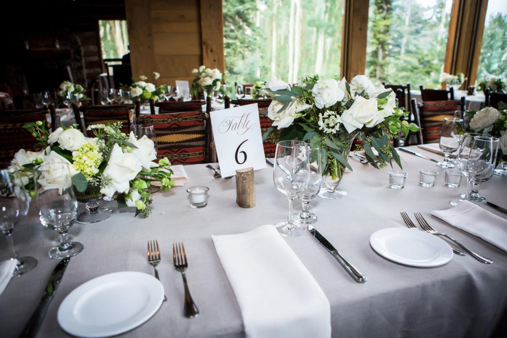 Allred's Wedding Reception details