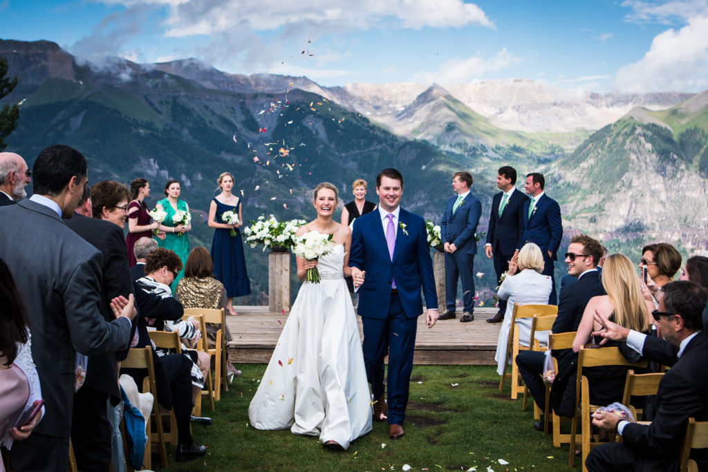 san sophia overlook wedding recessional