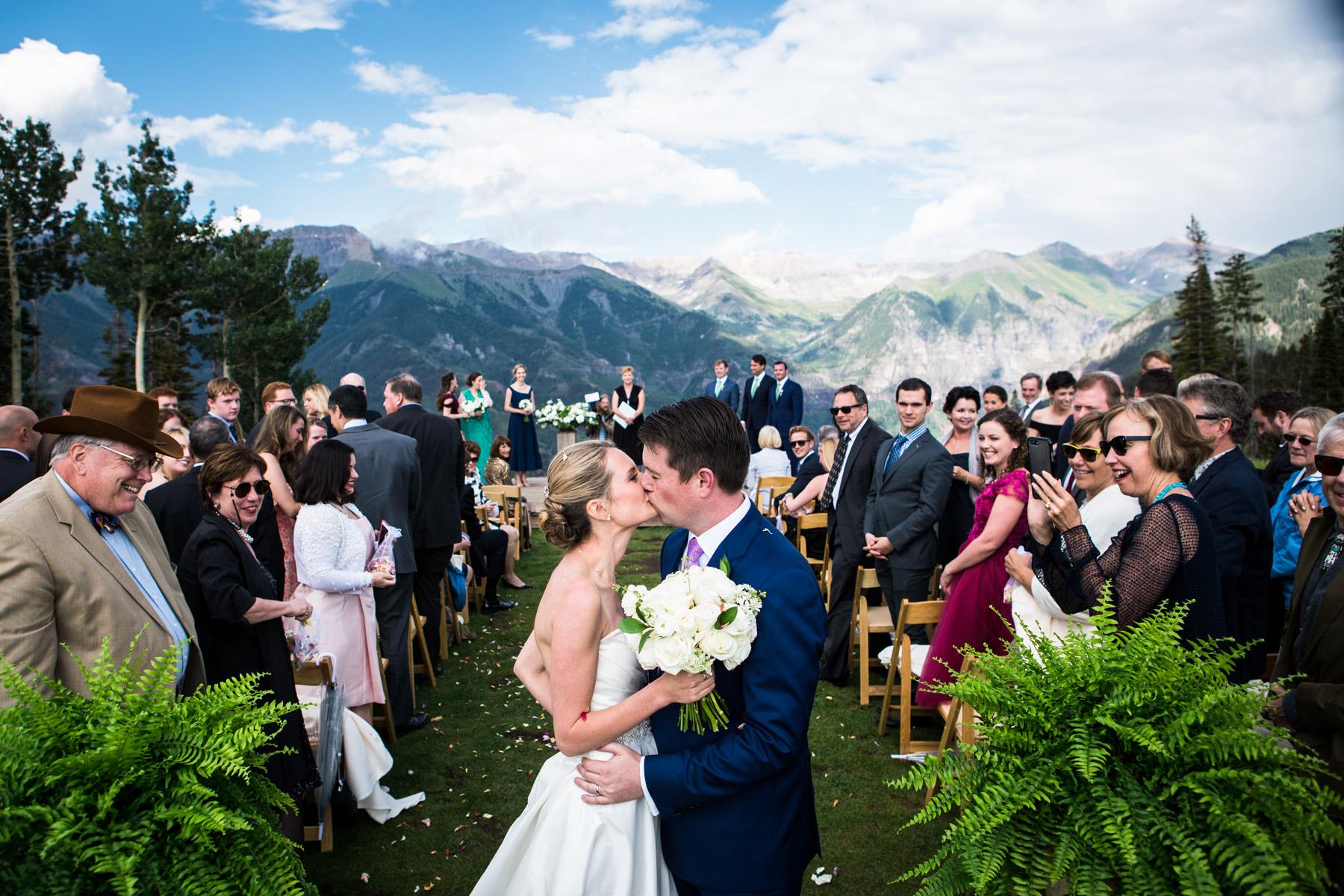 San Sophia Overlook, Telluride Colorado photographed by Telluride wedding photographer Real Life Photographs
