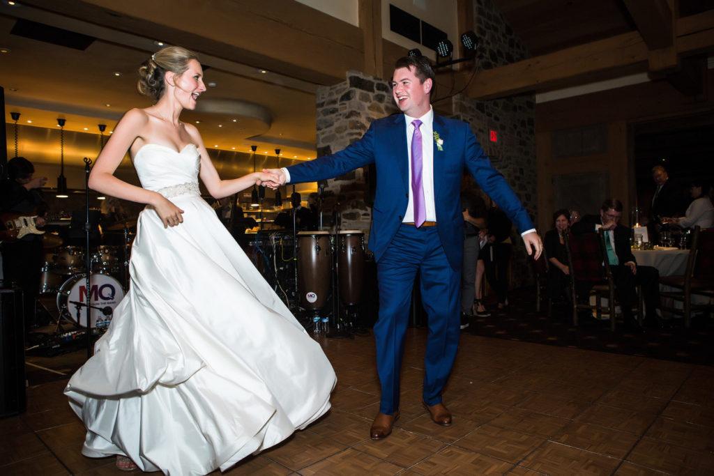 Allred's Wedding Reception first dance