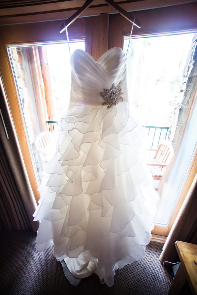 telluride wedding dress
