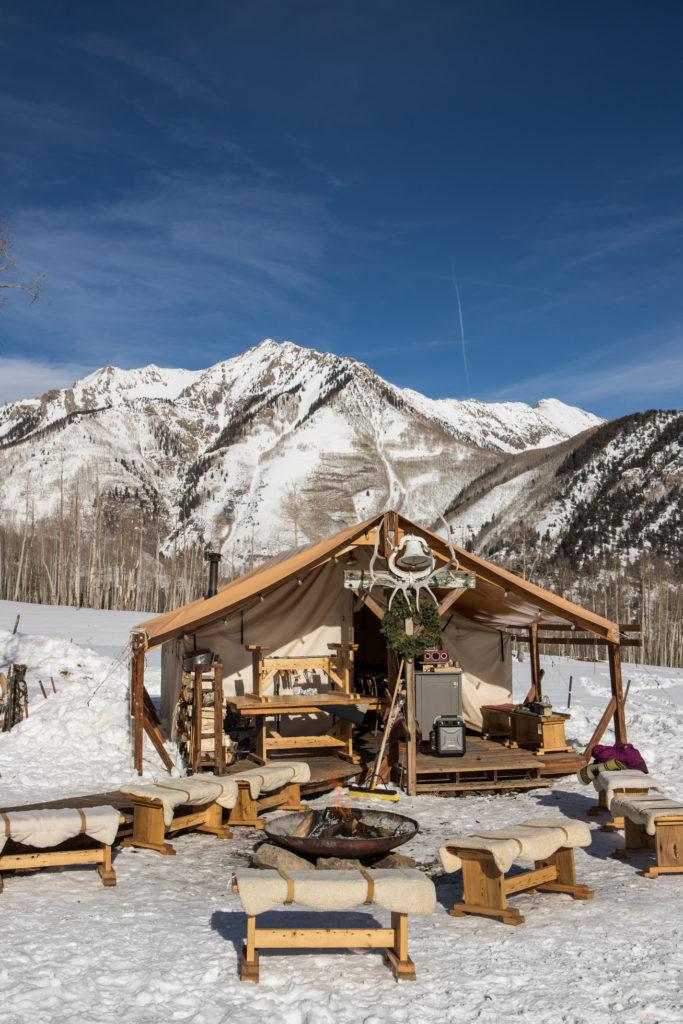 Telluride, Colorado Wedding Venue Sleighs and Wagons