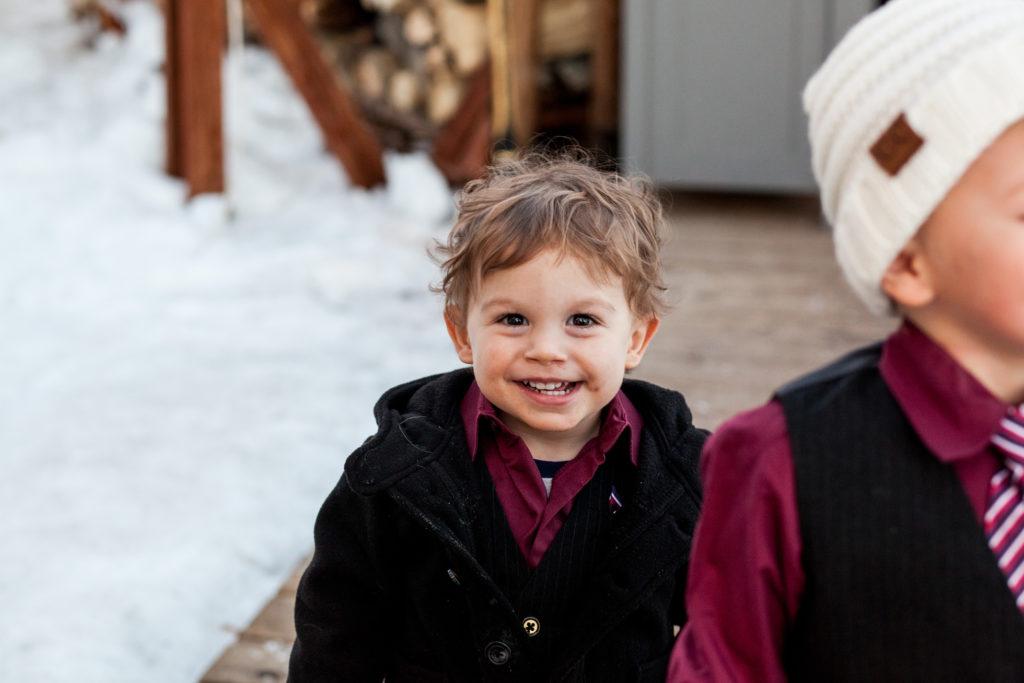 kids at Telluride weddings
