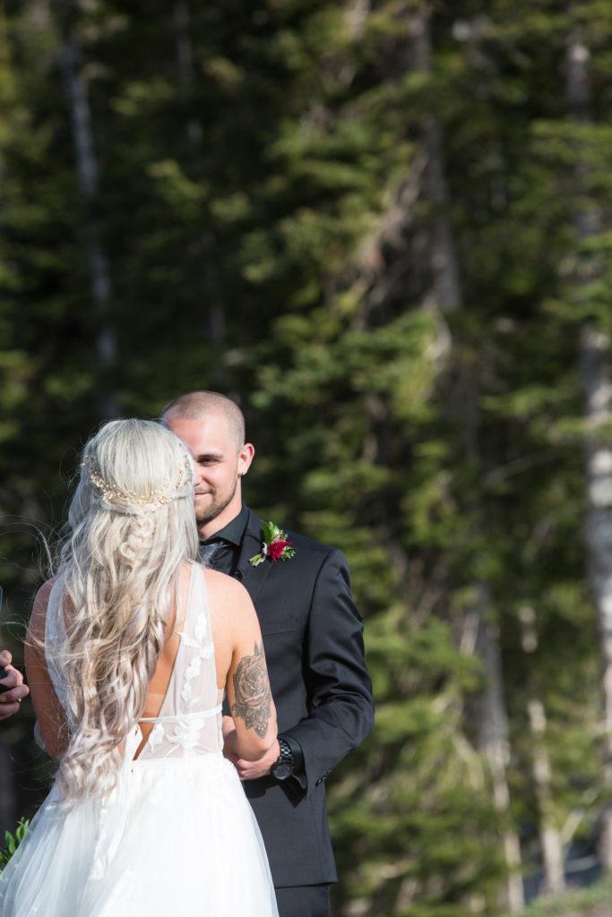 Gorgeous Telluride wedding hair done by Linda at Tellurideanywherehair