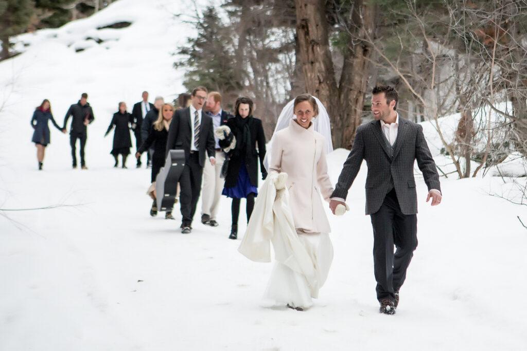 ouray, colorado winter adventure elopement
