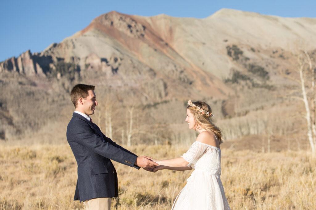 Mountain elopement in Telluride, CO