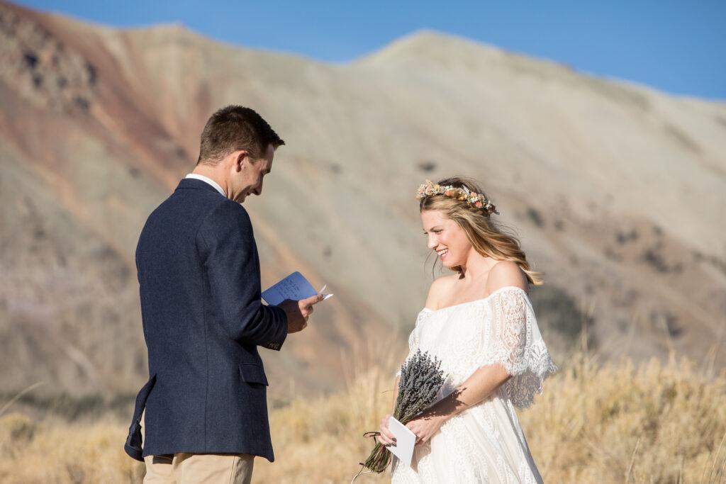 Telluride elopement Ben and Kaitlyn